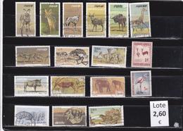 Namibia  S.W.A.-  Lote  17   Sellos Diferentes  Fauna   -  11/10216 - Namibia (1990- ...)
