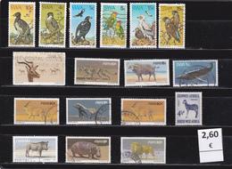 Namibia  S.W.A.-  Lote  17   Sellos Diferentes  Fauna   -  11/10217 - Namibia (1990- ...)