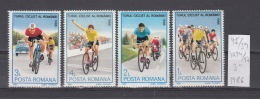 39K95 / 1986 - Michel  Nr. 4294/97 - Cycling Cyclisme Radsport  Bicycle Racing  ** MNH Romania Roumanie - 1948-.... Republics