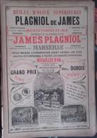 PUB 1893 - Fonderie De Cloches Ch. Arragon Lyon, Huile Olive J. Plagniol Marseille - Advertising