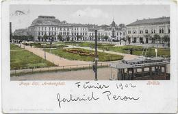 CPA - BRAILA - PIATA STII. ARCHANGHELI - 1902 - ROMANIA - Roumanie