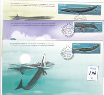 Namibia  S.W.A.  -  3  Tarjetas Fauna   - 11/10220 - Namibia (1990- ...)