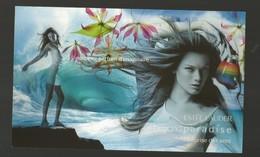 1 Grande Carte Glacée Estée Lauder - Perfume Cards