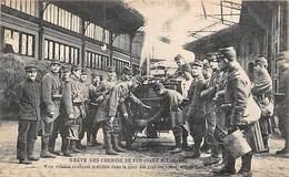 Paris.    75   Grève Des Chemins De Fer  1906  Cuisine Roulante Gare Saint Lazare    (voir Scan) - France