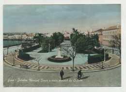 FARO - Jardim Manuel Bívar E Vista Parcial Da Cidade  (2 Scans) - Faro