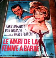 AFF CINE ORIG Le Mari De La Femme à Barbe (Marco Ferreri Annie Girardot) 1964 - Posters