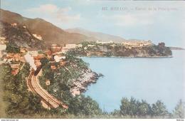 Monaco , Entree De La Principaute , Circulee En ? - Monaco