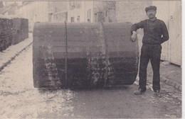 Baruet Le Demenageur Ex Champion De Lutte Exposition De 1889 Paris Record Voiture A Bras - Lutte