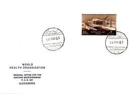 EGYPTE. Enveloppe Commémorative De 1965. Conférence De L'OMS. - WHO