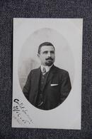 Carte Photo - Portrait D'un Homme En 1908 - Photographs