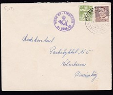 Denmark 1921 Mi 0120 + 0271 Send From Bogo By Lindebro Send To Bronsjoj..............................................142 - 1913-47 (Christian X)