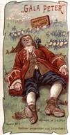 CHOCOLAT GALA PETER  VOYAGE A LILIPUT  GULLIVER PRISONNIER DES LILIPUTIENS - Schokolade