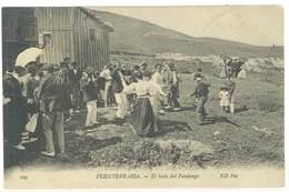 Cpa Espagne - Fuenterrabia - El Baile Del Fandango    ( S. 3480 ) - Espagne