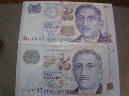 SINGAPOUR / Superbes Billets De 2000 Et 2005 UNC N° 45 Et 46 Du Paper Money - Singapour