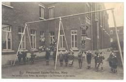 Cpa Belgique - Pensionnat Sainte-Thérèse - Nimy - Au Jardin, ... Les Portiques ..  ( S. 3482 ) - Belgique