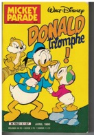 MICKEY PARADE   N°  4     DONALD TRIOMPHE - Bücher, Zeitschriften, Comics