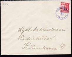 Denmark 1933 Mi 0203 Send From Grejsdal Højoaard To Kopenhagen.......................................................414 - 1913-47 (Christian X)