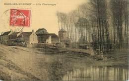 """CPA FRANCE 77 """"Isles Les Villenoy, Ile Charlemagne"""" - Autres Communes"""