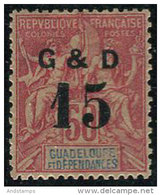 Guadeloupe 1903. Michel #47-a VF/MH (Ts15) - Unused Stamps
