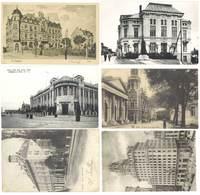 Lot 9 Cpa Bureaux De Postes, Ptt, Barcelona, Spa, Madrid, Locle, Krosno, St Ingbert, Jinsen, Belgrade, Ludwigsh(S. 3499) - Postcards