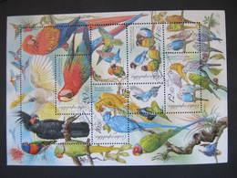 Block Vogel Birds 2005 Mi. Bl.20 Gest. ///  D*35145 - Czech Republic