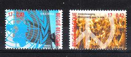 Belgio   -   2000. Onu  E  Movimento Per La Pace. UN And Movement For Peace.  MNH - UNO