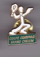 Pin's COUPE GRAND CHELEM SIGNE ARTHUS BERTRAND - Tennis