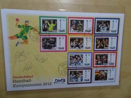 Bund 10 Stück Marke Indiviual Handball EM 2016 (9163) - Handisport