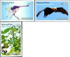 Ref. 326014 * NEW *  - MAURITIUS . 2014. FAUNA AND FLORA. FAUNA Y FLORA - Mauritius (1968-...)