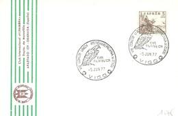 POSTMARKET ESPAÑA  1977 VIGO - Águilas & Aves De Presa