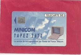 F 271 C . 36.12 MINICOM 1 . 50 U . 09/92 . SO4  . COTE 6 € - 1992
