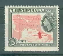 British Guiana: 1963/65   QE II - Pictorial  SG356    5c   [Wmk: Block Crown CA]   MNH - Brits-Guiana (...-1966)