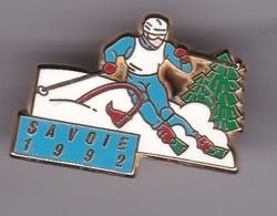 Pin's  SAVOIE 1992 SIGNE ARTHUS BERTRAND - Winter Sports