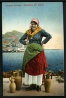 Costumi Siciliani - Contadina All'acqua - Non Viaggiata - Rif. 03647 - Autres Villes