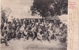 CONGO BELGE 1906    CARTE POSTALE  RIXE SANGLANTE CONGO MAYUMBE - Belgisch-Congo - Varia