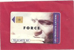 F 323  . PRODUITS LAITIERS FORCE . 50 U   . COTE 6 € - France