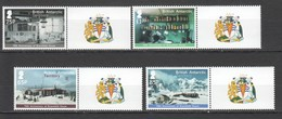 S119 BRITISH ANTARCTIC TERRITORY BRANSFIELD HOUSE #646-49 MICHEL 12 EURO SET MNH - Research Stations