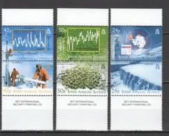 S122 BRITISH ANTARCTIC TERRITORY CLIMATE SCIENCE TEMPERATURE #381-86 MICHEL 28 EURO SET MNH - Research Programs