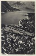 CP Carte Postale Montenegro Kotor Vom Berge Gesehen - Montenegro
