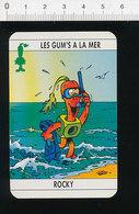 Humour Plongée Sous-marine Plongeur Tuba Masque Palmes / 124/6-D - Unclassified