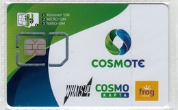 GREECE - COSMOTE (New Logo) GSM Card , Mint - Greece