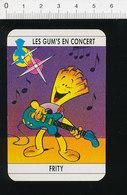 Humour Musique Guitare électrique ??? Cornet De Frites ??? / 124/6-D - Unclassified