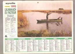 Almanach Du Facteur - 1992 - Département Du Nord - 59 - Eyrelle - Big : 1991-00