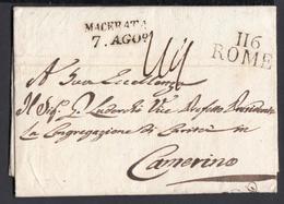 Italie 1810 Departement Conquis 116 ROME EMPIRE FRANCAIS (6G23938) DC-0593 - ...-1850 Préphilatélie
