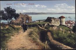 CP CPA Carte Postale Albanie Albanien Durazzo Durcë Zitadelle - Albania