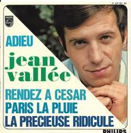 """Jean Vallée  """"  Adieu """" - Vinyl Records"""