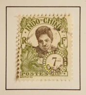 1922 France (ex-colonies & Protectorats) > Indochine -  Yt:FR-IC 106, Mi:FR-IC 112 - Variété C Formant Un Coeur - Indochina (1889-1945)