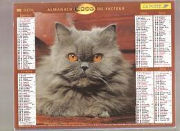 Almanach Du Facteur - 2000 - Département Du Nord - 59 - Lavigne - Calendriers
