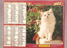 Almanach Du Facteur - 2001 - Département Du Nord - 59 - Oller - Calendriers