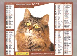 Almanach Du Facteur - 2003 - Département Du Nord - 59 - Cartier-bresson - Calendars
